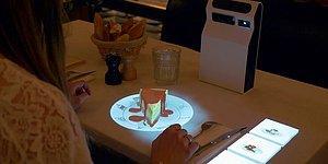 Yakın Gelecekte Restoran Menüleri Hologramla Önümüze Yansıtılabilir!