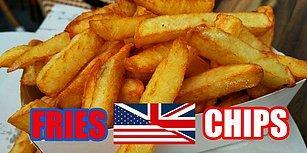 Kafa Karışıklığına Son: İngiltere ve Amerika'da Farklı Şekilde Kullanılan 21 Eş Anlamlı Kelime
