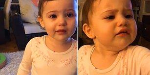Yaptığı Yaramazlık Sonrasında Annesinden Özür Dilerken Gözyaşları İçinde Kalan Ufaklık