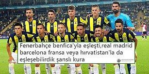 Fenerbahçe'nin Şampiyonlar Ligi'nde Benfica ile Eşleşmesi Sonrası İsyan Eden Taraftarlar