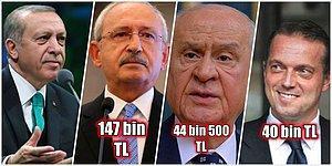 400 Bin TL'den Fazla! Recep Tayyip Erdoğan Bugüne Kadar Açtığı Tazminat Davalarından Ne Kadar Kazandı?