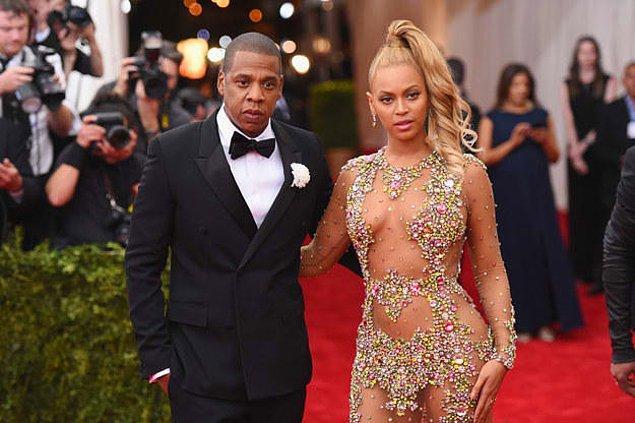 2. Jay Z ve Beyoncé arasındaki yaş farkı sence kaç?