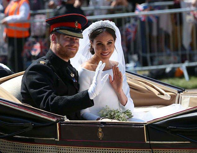 6. Prince Harry ve Meghan Markle arasındaki yaş farkı kaçtır?