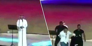 Sahneye Koşup, Erkek Şarkıcıya Sarıldı Diye Gözaltına Alınan Kadın