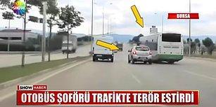 Sürücü Adayının Kullandığı Aracın Üstüne Kıran Sonra Da Eğitmenine Saldıran Özel Halk Otobüsü Şoförü