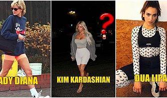 Trend Avcıları Buraya! Dua Lipa'dan Kim Kardashian'a Kombin Örnekleriyle Kısa Tayt Modası