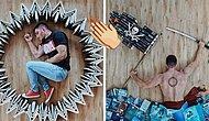 Sanat Sever Kitap Kurdu: Devasa Kütüphanesini Sanat Eserine Dönüştüren Genç!