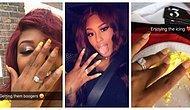 Nişanlandığını Herkese Duyurmak İçin Elinden Geleni Ardına Koymayan Kadın 💍