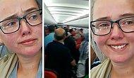 İstanbul'a Giden Uçakta Afgan Adamın Hayatını Kurtarmak İçin Mücadele Eden İsveçli Kız