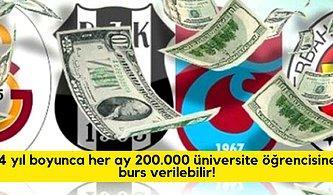 4 Büyük Futbol Takımımızın Borcu Olan 10 Milyar TL ile Yapılabilecek 15 Şey
