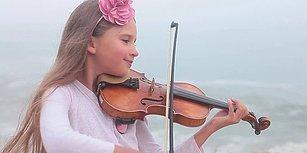 Kemanıyla Yaptığı Cover'larla Kendine Hayran Bırakan 9 Yaşındaki Ufaklık: Karolina Protsenko