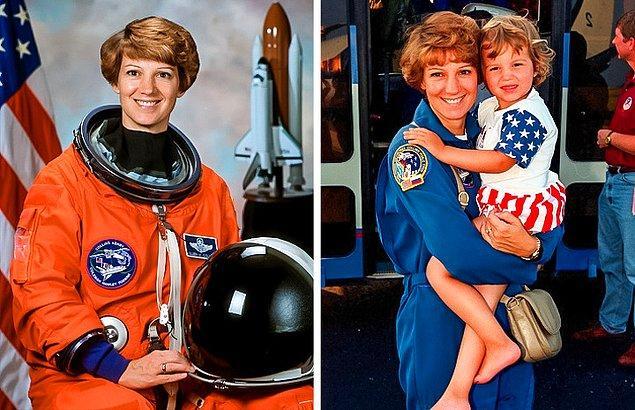 9. Hem uzay mekiği komutanı hem de bir anne olmak!