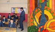 Türkiye'ye Yerleşen Kırgız Öğrencilerin Okul İhtiyaçlarını Karşılamak İçin Yaptıkları Resimler İstanbul'da Sergileniyor