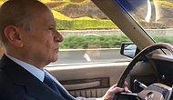 Devlet Bahçeli Klasik Arabasıyla Ankara'yı Gezmeye Devam Ediyor!