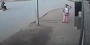 Zeka Dolu Hareketiyle Kapkaççıyı Pazara Yollayan Kadın