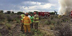 Resmen Mucize! Meksika'da 101 Kişiyi Taşıyan Yolcu Uçağı Düştü: Can Kaybı Yok