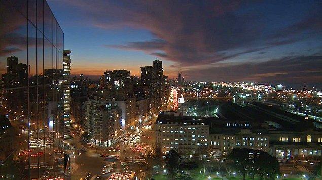 10. Buenos Aires / Arjantin: 407,1 saat