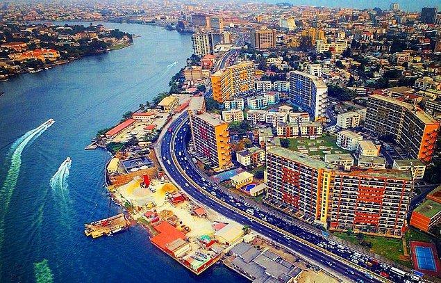 9. Lagos / Nijerya: 508 saat