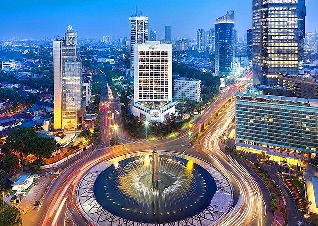 5. Cakarta / Endonezya: 651,6 saat