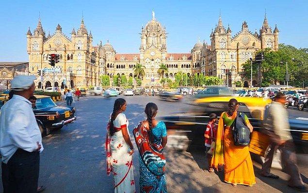 2. Mumbai / Hindistan: 917,8 saat