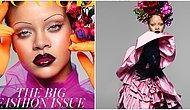 Rihanna İngiliz Vogue Dergisine Kapak Oldu: Kalçalarımla ve Kıvrımlarımla Mutluyum, Onları Kaybetmek İstemiyorum!