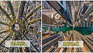 Şehirlerin, İçinizi Uçma İsteğiyle Dolduracak Hiç Görmediğiniz Kuş Bakışı Fotoğrafları