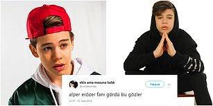 Yerli Justin Bieber Alper Erözer'in Küçük Yaştaki Hayranlarının Şoka Uğratacak Sosyal Medya Paylaşımları