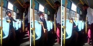 Küçücük Çocuğu Otobüsün İçinde Kemerle Döven Vicdansız Serbest!