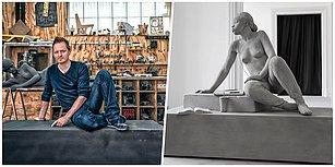Belçikalı Sanatçı Tarafından Yapılan İnanılmaz Gerçekçi Heykelleri Görünce Küçük Dilinizi Yutacaksınız!