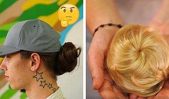 Şartları Eşitleniyor: Kısa Saçlı Erkekleri Uzun Saçlı Gibi Gösteren Takma Topuzlar