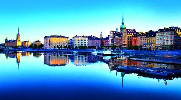 6. İsveç'in başkenti hangisidir?