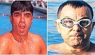 Hararet Basınca Soluğu Soğuk Suyun Altında Almış Ünlülerden 15 Garip ve Güldüren Fotoğraf