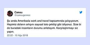 Work and Travel Yapan Bir Öğrenciden İnsanın Canını Acıtan Bir ABD Türkiye Karşılaştırması