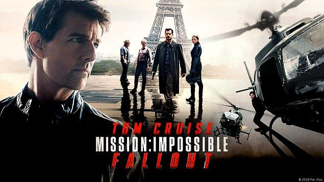 4. Mission: Impossible - Fallout - IMDb puanı: 8.1