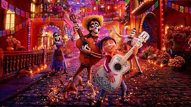 1. Coco - IMDb puanı: 8.4