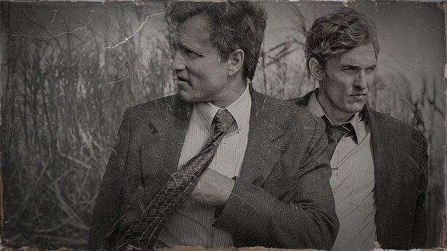 5. Amerika'nın meşhur suç, dedektiflik dizilerinin liste başı kralı: True Detective. IMDb puanı: 9.0