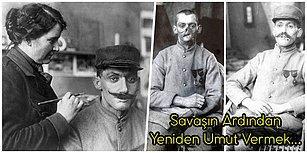 Birinci Dünya Savaşı'nın Ardından Yüzü Deforme Olmuş Askerlere Maske Yaparak Hayatlarını Güzelleştiren Kadın