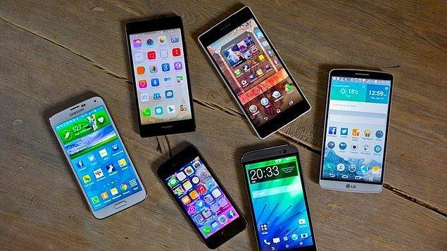2007-2017 yılları arasında 142 milyonu aşkın cep telefonu ithal ettik.