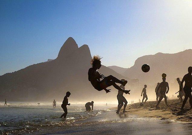 14. Ipanema Kumsalı, Brezilya