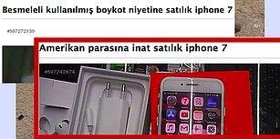 Boykot Nedeniyle Satılık! Cumhurbaşkanının Çağrısını Duyan Vatandaş iPhone'ları Satışa Çıkardı