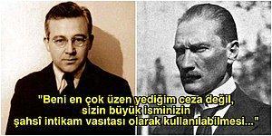 Sabahattin Ali'nin Atatürk'e Cezaevinden Yolladığı ve Yalan Söylemediğini Anlattığı Bilinmeyen Mektubu