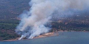 Denize Sıfır Yangınlar... Kumluca ve Ayvalık'ta Kül Olan Kıyı Şeridi Tepkilere Neden Oldu