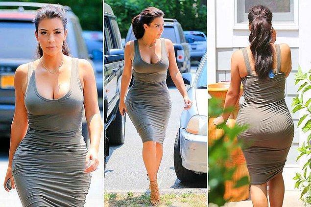 O giydiğin elbise sana biraz dar mı olmuş?