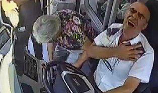 Kalp Krizi Geçiren Otobüs Şoförü: 'Benden Bu Kadar, İyi Değilim Kimsenin Hayatını Riske Atamam'