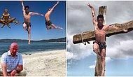 Salda Gölü'nde Verdiği Aşırı Havalı Pozları Trollerin Elinde Şekilden Şekile Giren Bale Sanatçısı Erhan Güzel