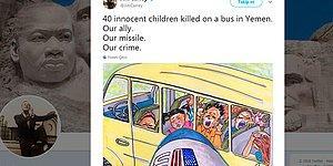 Dünyanın Görmezden Geldiği Yemen'deki Çocuk Katliamına Jim Carrey'den Tepki: 'Bizim Müttefikimiz, Bizim Suçumuz'