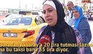 İstanbul'a Gelen Turistlerden Taksi İsyanı