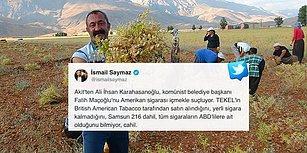Akit Yazarı, Ovacık'ın Komünist Belediye Başkanı Fatih Maçoğlu'nu 'ABD Sigarası İçmekle' Suçladı