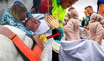 Elleri ve Ayakları Buruş Buruş Olana Kadar 55 Saatte Tam 163 Kilometre Yüzerek Tüm Sınırları Zorlayan Atlet