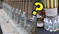 Japonya'da İnsanlar Neden Evlerinin Duvarlarına Şişe Şişe Su Diziyor?